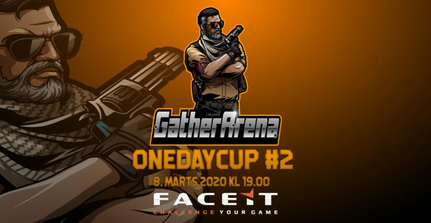OneDayCup #2 – Tilmeld dit hold nu.