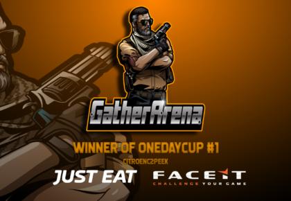 Vinder af OneDayCup #1